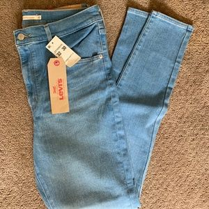 Levi's mile high super skinny jeans size 32
